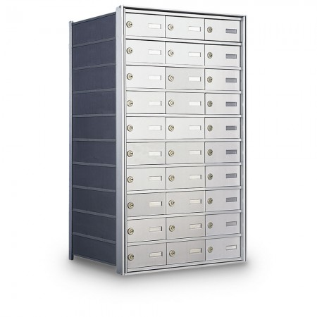 30 Door Private Use Rear Loading Horizontal Mailbox