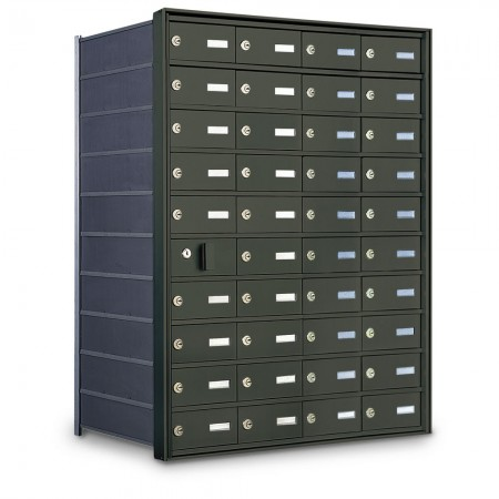 39 Door Private Use Front Loading Horizontal Mailbox - Bronze