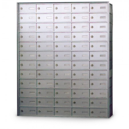 60 Door Private Use Rear Loading Horizontal Mailbox