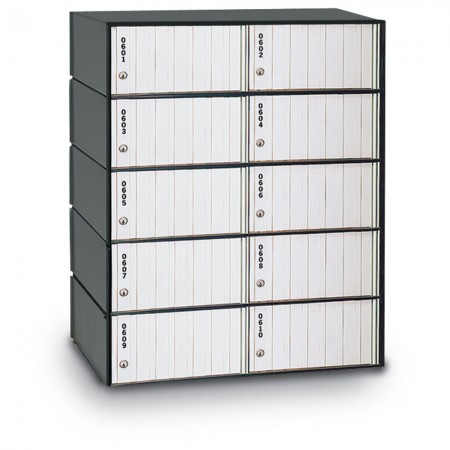 10 Door Standard PO Box System