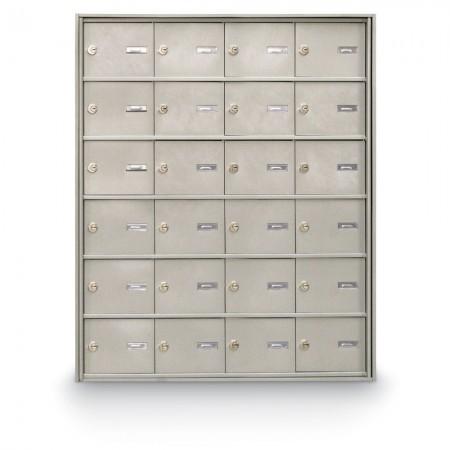 24 Door Rear Loading 4B+ Horizontal Mailbox