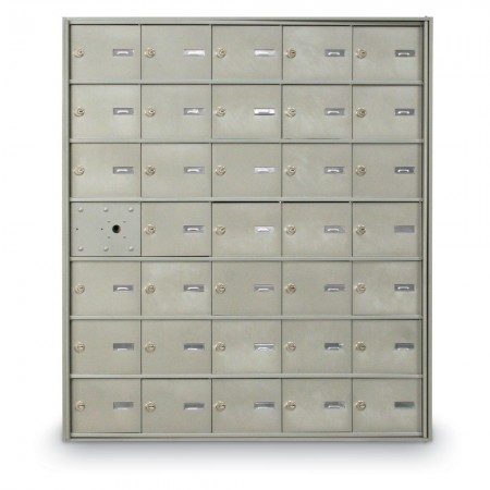 34 Door Front Loading 4B+ Horizontal Mailbox