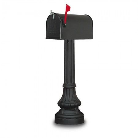 Everette Classic Colonial Residential Mailbox & Post