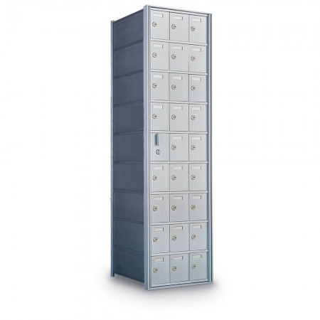 26 Door Private Use Front Loading Horizontal Mailbox