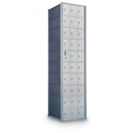 29 Door Private Use Front Loading Horizontal Mailbox