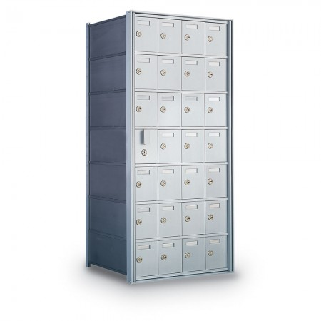 27 Door Private Use Front Loading Horizontal Mailbox
