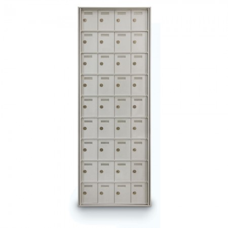 36 Door Private Use Rear Loading Horizontal Mailbox