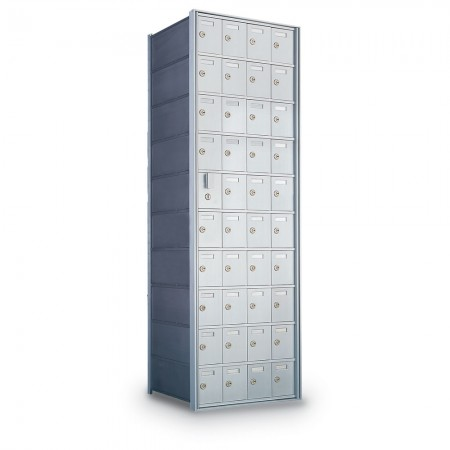 39 Door Private Use Front Loading Horizontal Mailbox