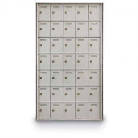 35 Door Private Use Rear Loading Horizontal Mailbox