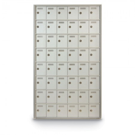 48 Door Private Use Rear Loading Horizontal Mailbox
