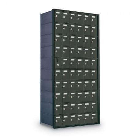 59 Door Private Use Front Loading Horizontal Mailbox - Bronze