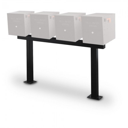 Double Post for four (4) Mail Vault Locking Mailboxes, Direct Burial - POST ONLY, MAILBOXES NOT INCLUDED