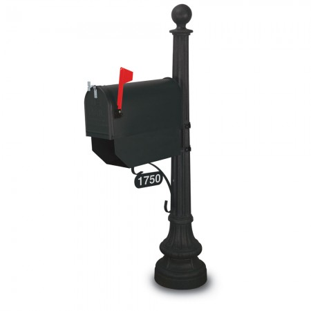 Weston Classic Colonial Residential Mailbox & Post
