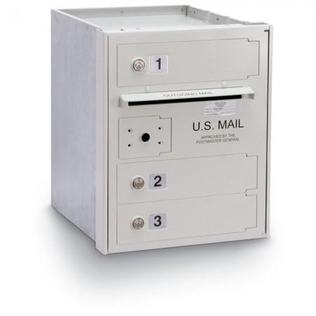 3 Door High Security 4C Horizontal Mailbox