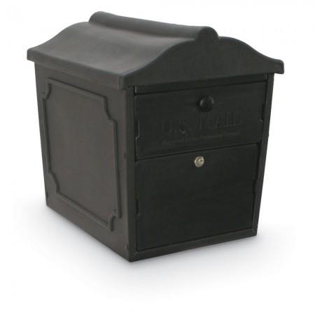 Dual-Entry Lockable Curbside Mailbox