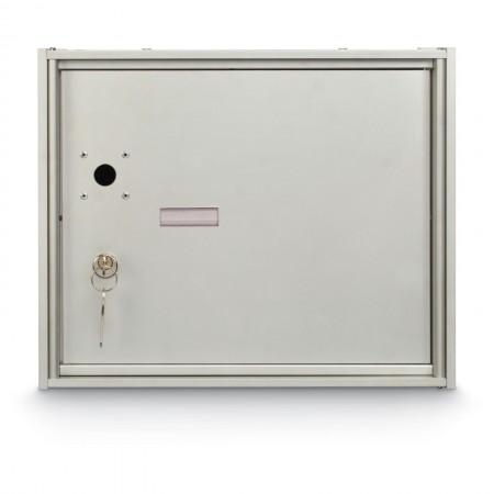 1 Parcel Locker Front Loading 4B+ Horizontal Mailbox