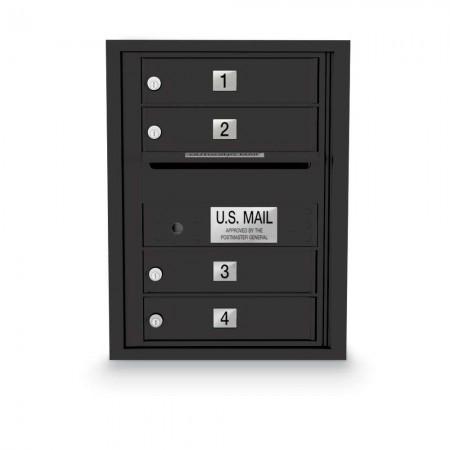 4 Door 4C Horizontal Mailbox