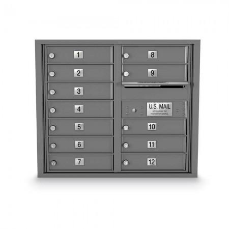 12 Door 4C Horizontal Mailbox