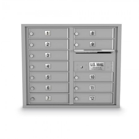 12 Door 4C Horizontal Mailbox