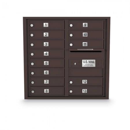 13 Door 4C Horizontal Mailbox