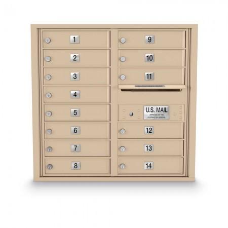 14 Door 4C Horizontal Mailbox