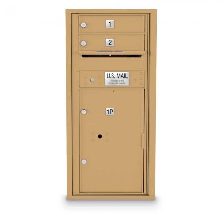 2 Door 4C Horizontal Mailbox