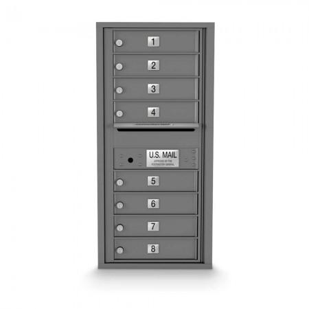 8 Door 4C Horizontal Mailbox