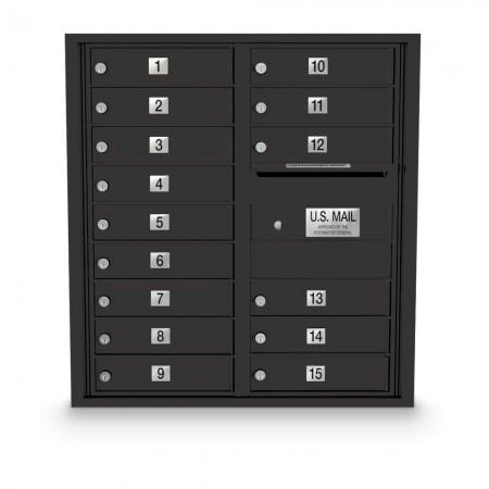 15 Door 4C Horizontal Mailbox