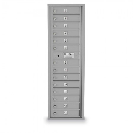 14 Door 4C Horizontal Mailbox