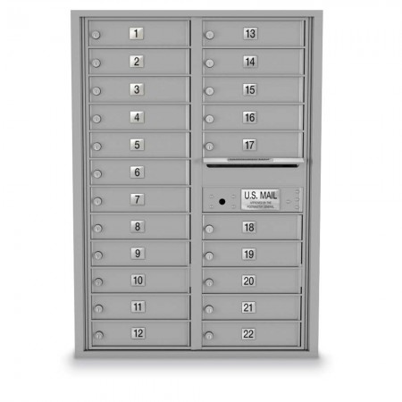 22 Door 4C Horizontal Mailbox