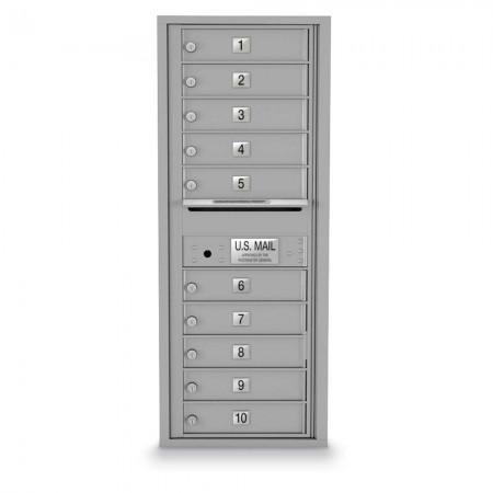 10 Door 4C Horizontal Mailbox