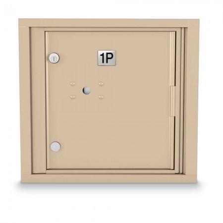 1 Parcel Locker 4C Horizontal Mailbox
