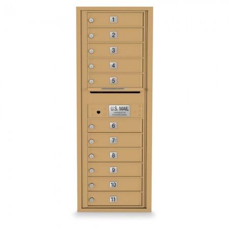 11 Door 4C Horizontal Mailbox