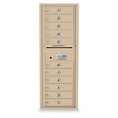 11 Door 4C Horizontal Mailbox