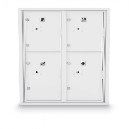 4 Parcel Locker 4C Horizontal Mailbox