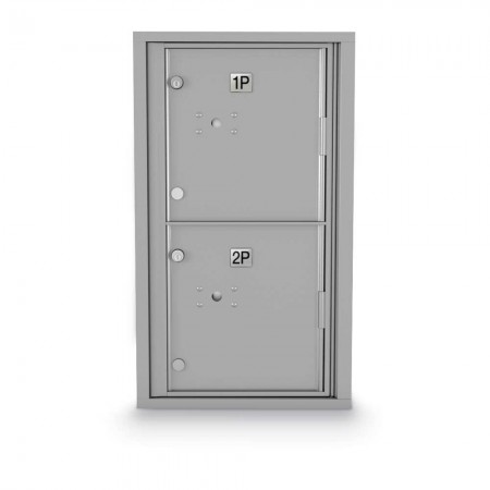 2 Parcel Locker 4C Horizontal Mailbox