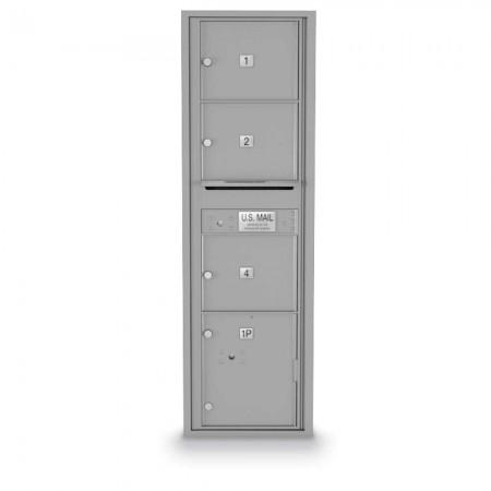 3 Door Over-sized 4C Horizontal Mailbox