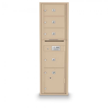 4 Door Over-sized 4C Horizontal Mailbox