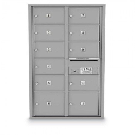 11 Door Over-sized 4C Horizontal Mailbox