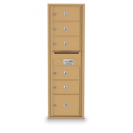6 Over-sized 4C Horizontal Mailbox