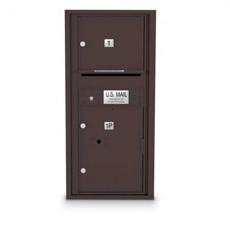 1 Door Over-sized 4C Horizontal Mailbox