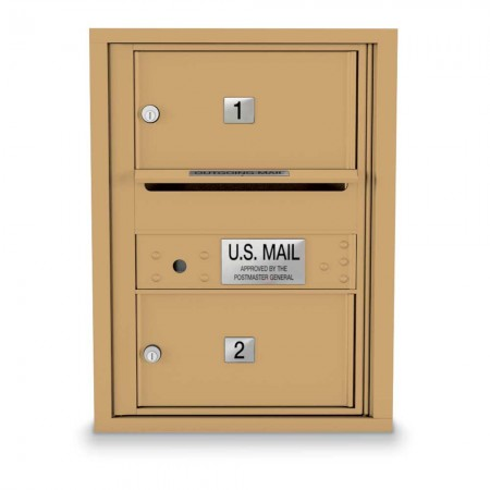 2 Door Over-sized 4C Horizontal Mailbox