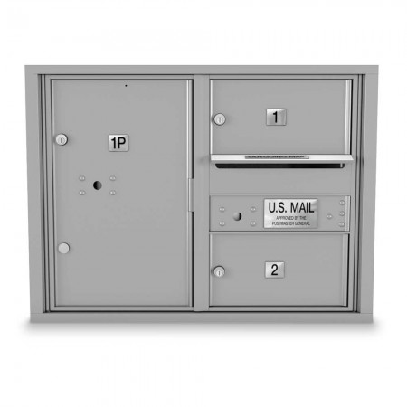 2 Door Over-sized 4C Horizontal Mailbox
