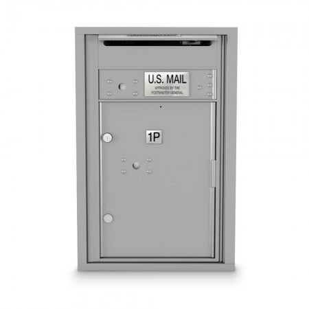 1 Parcel Locker 4C Horizontal Mailbox