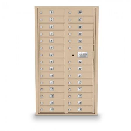 29 Door 4C Horizontal Mailbox