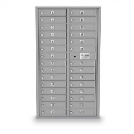 29 Door 4C Horizontal Mailbox