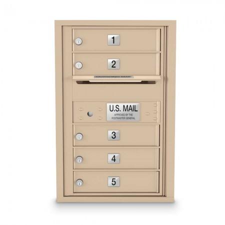 5 Door 4C Horizontal 4C Mailbox