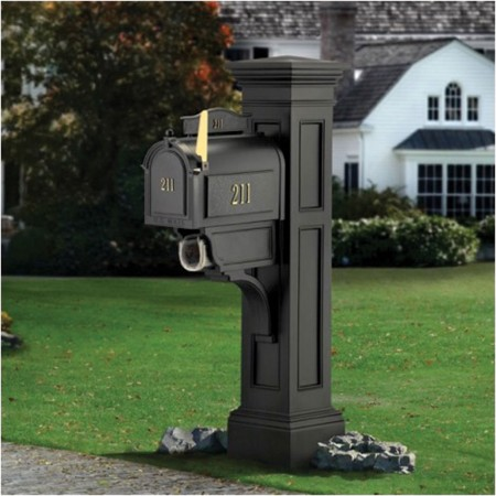 Liberty Mail Post, Black or White