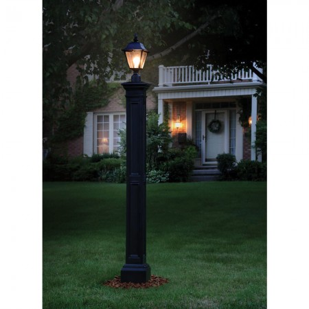 Liberty Lamp Post Without Mount, Black