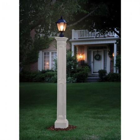 Liberty Lamp Post Without Mount, White